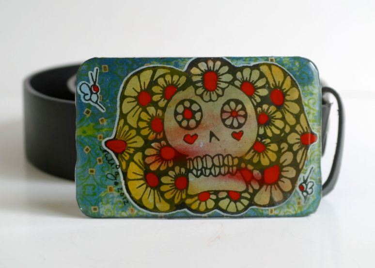 Belt buckle by Nikki Zabicki