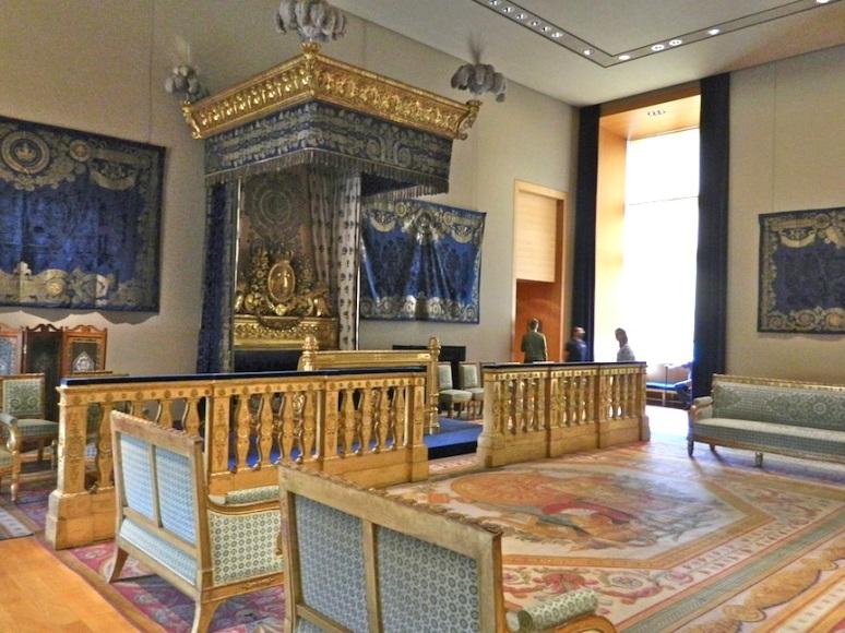 """Napoleon III's Ceremonial Bed""""."""