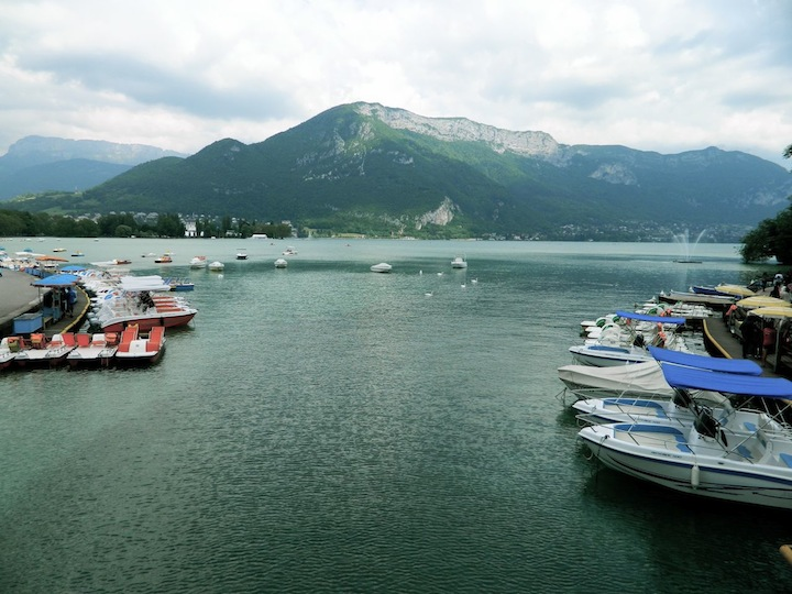 June 2, Lake Annecy, France: The world's cleanest lake.