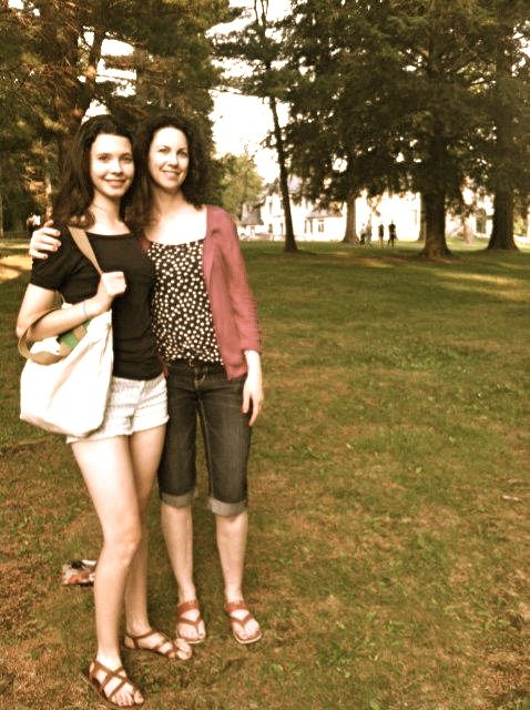 June 27: Drop Isabella off at Boston University's Tanglewood Institute where she will spend the next six weeks. Without me. Lenox, MA.