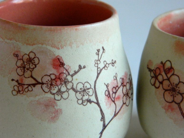b blossom cup detail