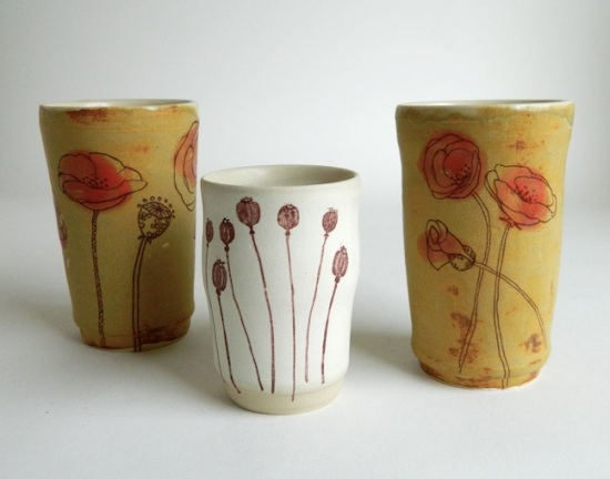 Poppy Tumblers, various sizes