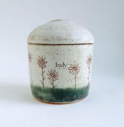 custom dog urn