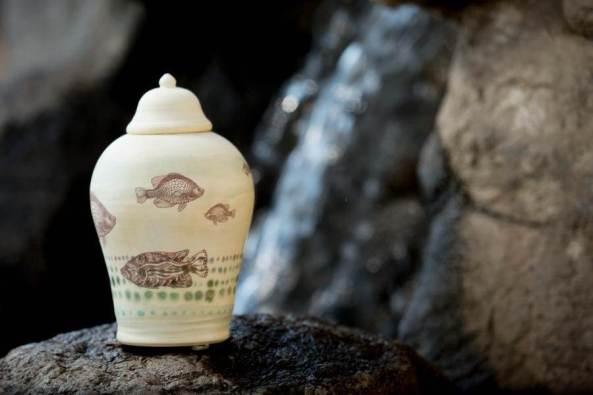 fish urn
