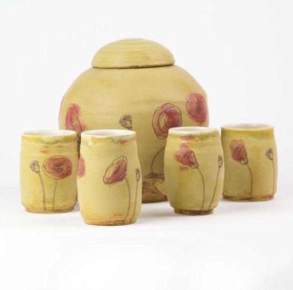 poppy urn
